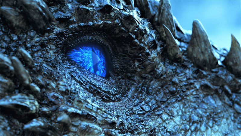 706 Beyond the Wall Frozen Lake Wight Viserion