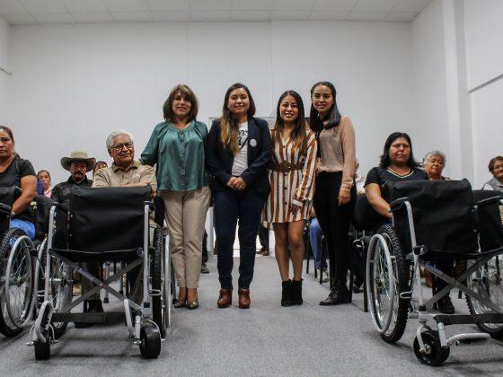Estuvieron presentes las regidoras María del Rosario León Giles y María Fernanda Martínez Aguilar quienes se comprometieron a seguir trabajando de manera coordinada
