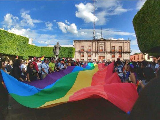 Foto: Orgullo LGBT+ Querétaro