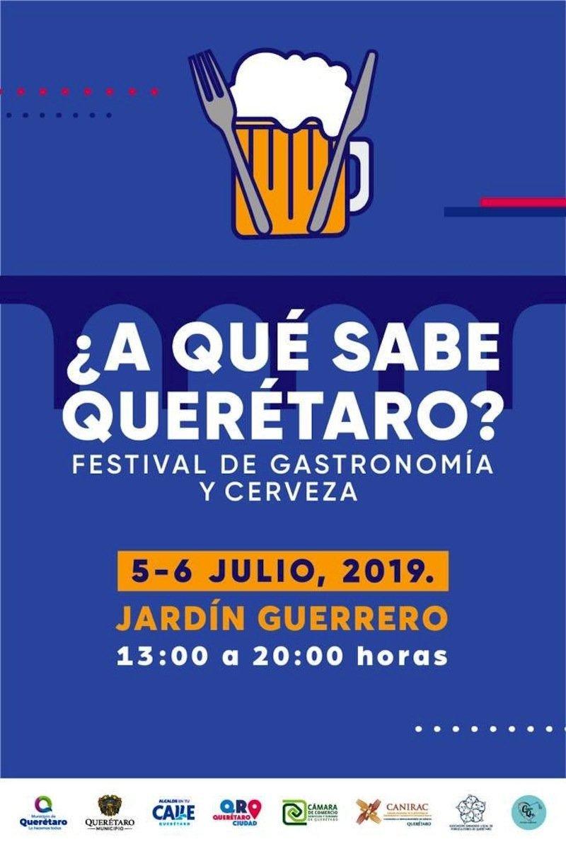 anuncia turismo festival de gastronomia y cerveza a que sabe queretaro