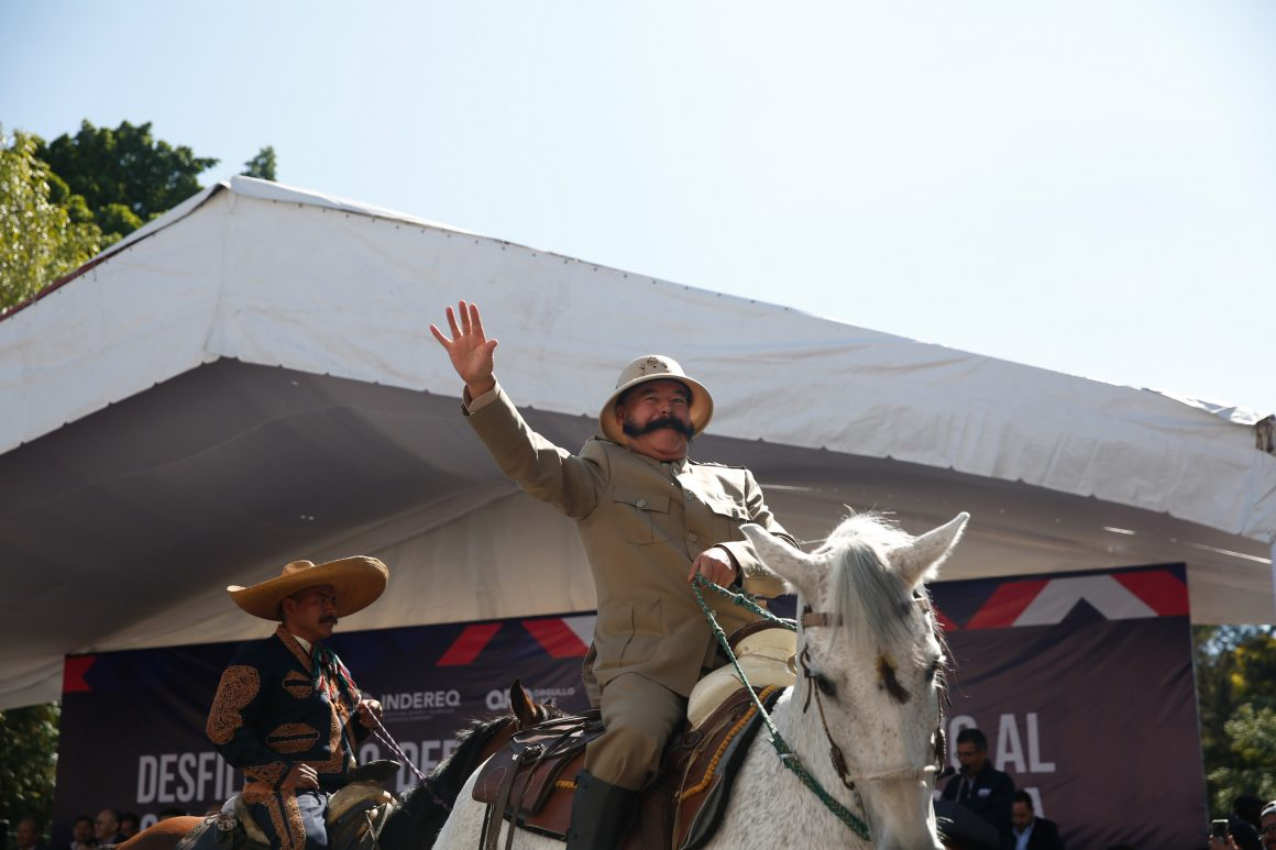 71 273 28701 1178642638 18 11 19 DESFILE CIVICO DEPORTIVO CONMEMORATIVO AL CIX ANIVERSARIO DE LA REVOLUCION MEXICANA 28