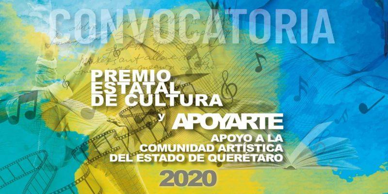 Premio Estatal de Cultura y Apoyarte 20201