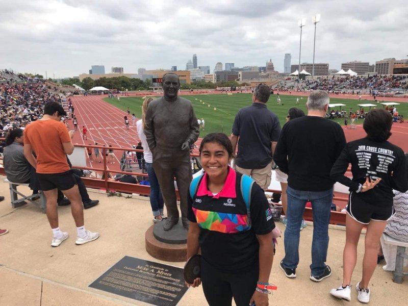 Sofía Guadalupe Mojica, atleta queretana