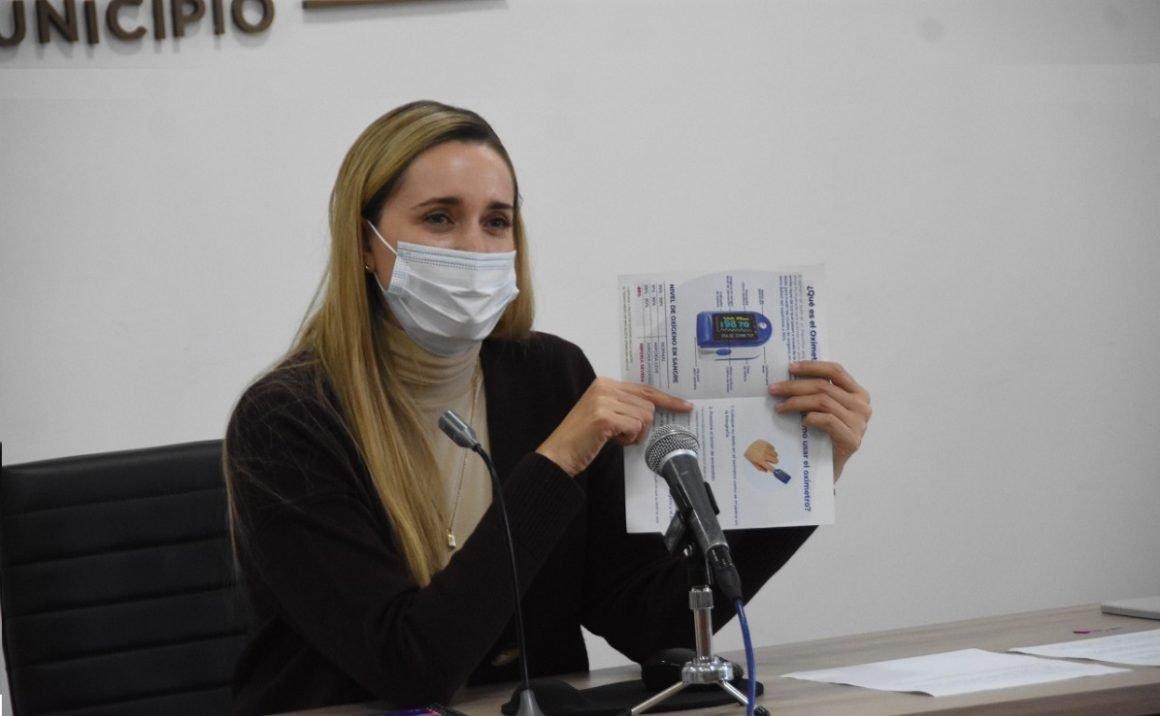 Oxímetros gratis en municipio de Querétaro