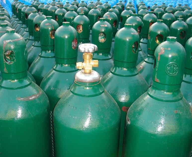 tanques de oxígeno