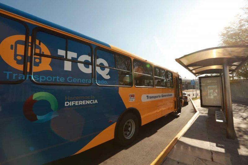 Inició el Programa de Transporte Generalizado